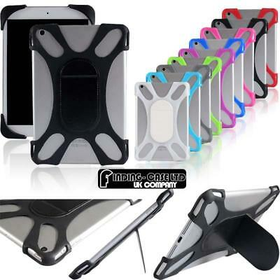 """For Various 7"""" 8"""" 10"""" Tablet - Universal Shockproof Silicone Stand Cover Case"""