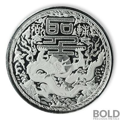 2018 Cameroon Silver Imperial Dragon 1 oz