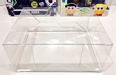 2 Box Protectors for various FUNKO POP! 2 PACKS.  PLEASE READ DESCRIPTION! cases