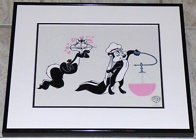 Warner Bros Looney Tunes Pepe Le Pew Loves You Framed Le Sericel Penelope