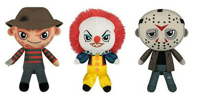 Funko Horror Plushies! Freddy Pennywise Jason Voorhees Michael Myers (4 Pc Set)