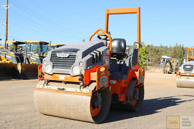 "2013 Hamm Hd12 48"" 5 Ton Smooth Drum Roller Compactor 700Hrs Tier 4"