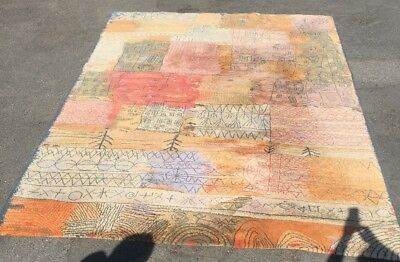 250 X 335 Limited Edition Paul Klee FLORENTINISCHES VILLEN Danish Ege Modern Rug