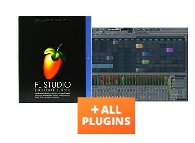 FL STUDIO 20 FRUITY LOOPS SIGNATURE ALL PLUGINS BUNDLE MAC LICENSE Mojave 10.11+