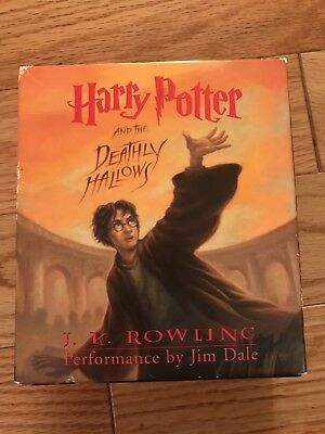 Harry Potter And The Deathly Hallows 17 CD Audio Book Collection JK Rowling EUC