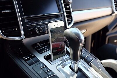 New 2010-16 Porsche Cayenne SUV 958 Convert Ash Tray to iPhone 6/6S/7 Dock Tray