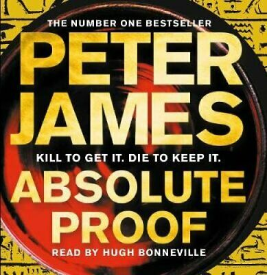 Absolute Proof by Peter James 9781529008609 (CD-Audio, 2018)