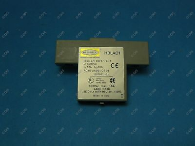 Hubbell HBLAC1 Disconnect Switch Auxiliary Contact 1 NO/NC Break After Break