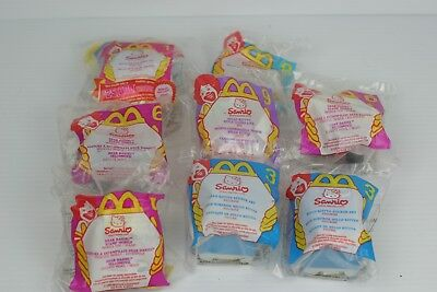 McDonald's Happy Meal Sanrio Hello Kitty Toy Lot Never Opened