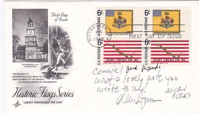 Allan Burns Autograph On Us Fdc United States Screenwriter - Television Producer
