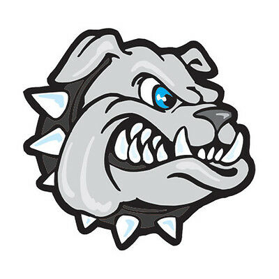 BULLDOG TEMPORARY TATTOOS (set of 25) Black Collar School Spirit ...