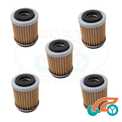 5 Oil Filter HF143 For Yamaha TW200 Trailway TTR225 TTR230 XT225 XT200