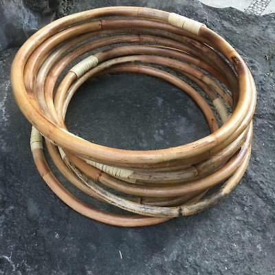 35cm RATTAN RING Weddings/Florist/Macrame/Hoop/DIY/Bamboo/Cane/Dream Catcher