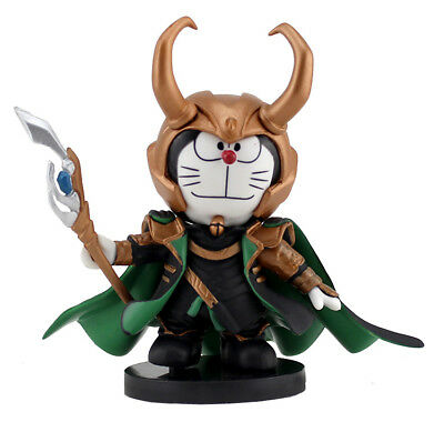Doraemon Norse mythology Loki Loptr 8cm Action Figures With New Box Collectable