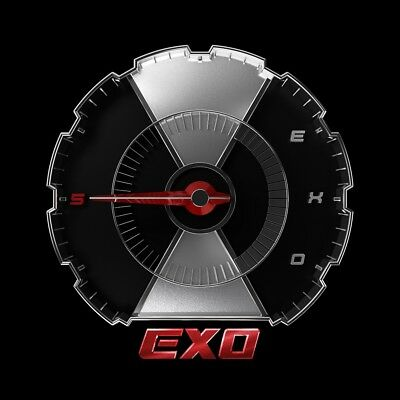 EXO - DON'T MESS UP MY TEMPO [Random ver.] CD+Folded Poster+Gift+Tracking no.