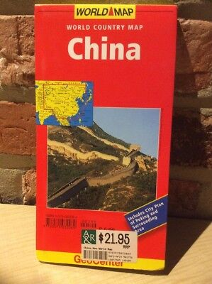 World Map of China 1:4000000