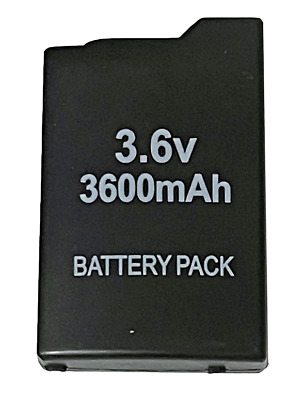 New Rechargable Battery for PSP 1000 and 1002 Sony PlayStation Portable 3600mAh