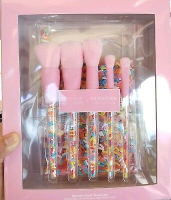 BRAND NEW  Museum of Ice Cream Makeup Brush Collection Limited Edition Pink