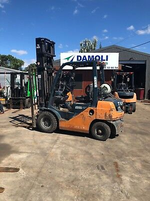 Latest model Toyota 2.5 Tonne Forklift $10,900+gst