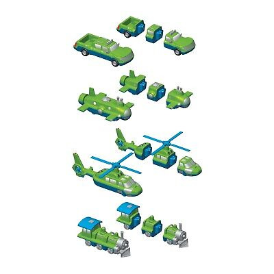 Magnetic Mix or Match Vehicles, Set 2