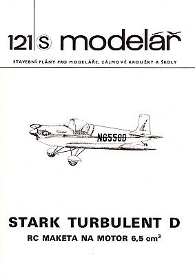 Original Quality Plan, Bauplan RC Scale Plane 'Stark Turbulent D'