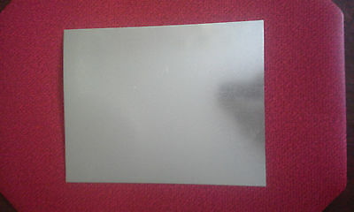 Galvanized Steel Sheet Metal 8 X 10 Inches 28 Gauge .022 Thickness