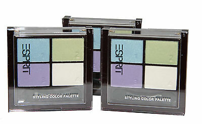 6 x Esprit Styling Color Eye Shadow Palette | Over the Rainbow | Wholesale