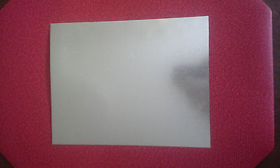 Galvanized Steel Sheet Metal 12 X 8 Inches 28 Gauge .022 Thickness
