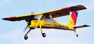 "Plan RC elektro semi Scale ""PZL Wilga"" STOL model Airplane Plan"