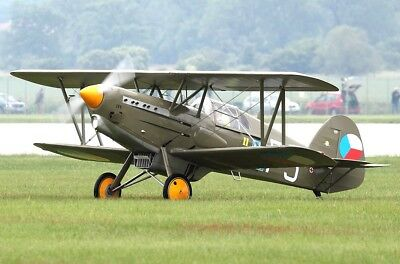 "RC Mini Scale 1:20 Bauplan ""Avia B-534"" WW-2 Fighter; Scale Flying Model Plan"