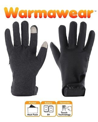 Warmawear Battery Heated Gloves Winter Thermal Mens Ladies Electric Performance
