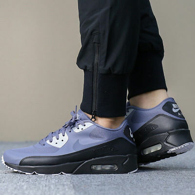 MENS NIKE AIR Max 90 Trainers Ultra Essential Grey Black