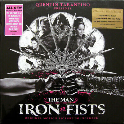 Man With The Iron Fists soundtrack MOV #d 180gm SILVER vinyl 2 LP NEW/SEALED