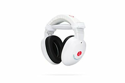 Lucid Audio HearMuffs Baby Hearing Protection Over-the-ear Sound Ear Muffs White