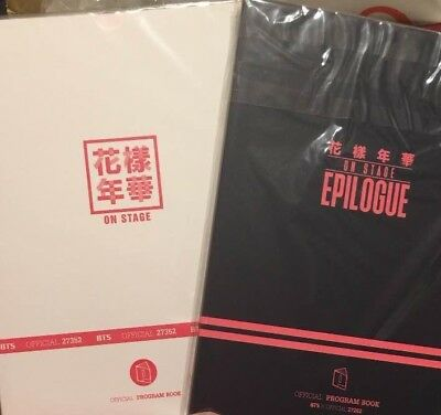 BTS  Kayo Nenka Program Book 2 SET EPILOGUE On Stage Official goods