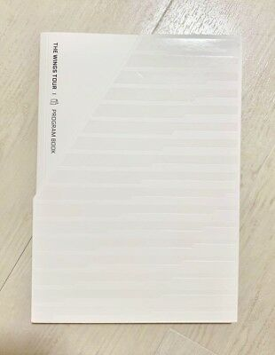 BTS THE WINGS TOUR  Program Book Official goods md programbook Japanese ver.
