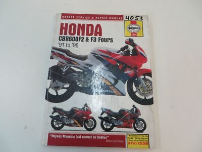 HONDA CBR600 F2 F3 Service and Repair Manual gebraucht