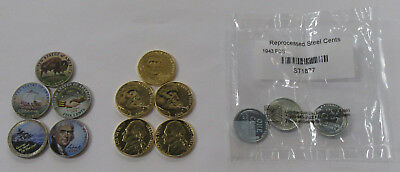 Great Collector Lot of Colorized Nickels & Steel Cents - Littleton Coin Group