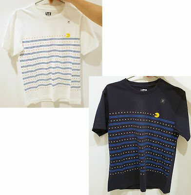 376b2b372 Uniqlo MEN Women The Game By Namco Museum PAC-MAN Short Sleeve Graphic T-