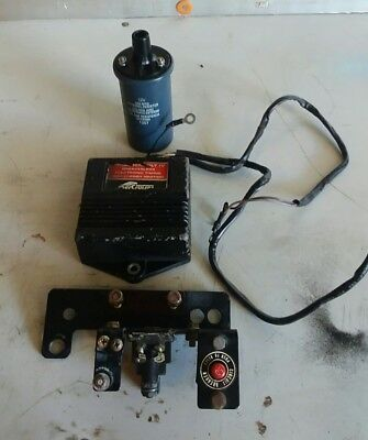 Mercruiser Thunderbolt IV ignition module, with coil, selonoid and breaker