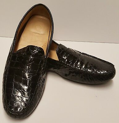 c5f53675552 Cole Haan NikeAir Penny Loafers Womens Size 9B Black Patent Leather VGC