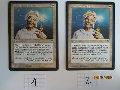1X MTG Vision Enlightened Tutor French NM