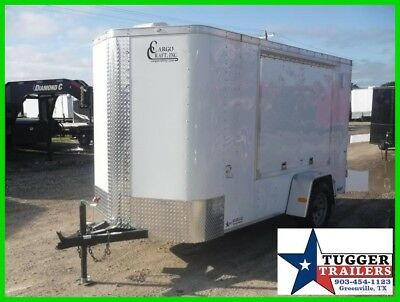 New Cargo Craft 5 X 10 10ft Enclosed Vending Tail Gating Football Sport Trailer!