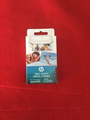 HP Sprocket Photo Paper, exclusively for HP Sprocket Portable Photo Printer