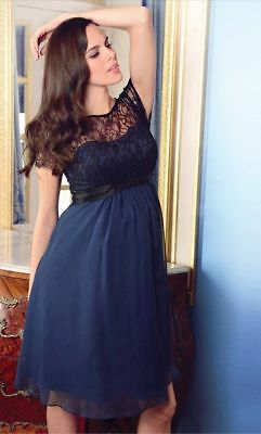 fdcd22db7c NEWSEASON SERAPHINE GENEVIEVE Luxe 100%Silk  Lace Maternity Party Dress 10  R£159 - EUR 52