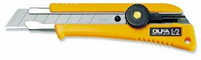 OLFA Cutter Knife Heavy Duty Rubber Grip L-2 Model 5004