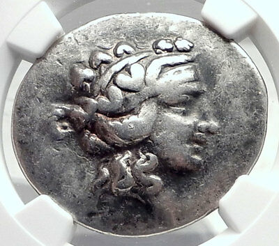 THASOS Thrace 148BC Authentic Ancient Silver Greek Tetradrachm Coin NGC i72600