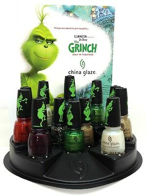 China Glaze Nail Lacquer -THE GRINCH Collection HOLIDAY 2018 - Pick Color .5oz