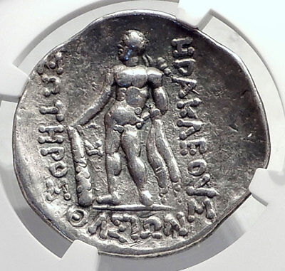 THASOS Thrace 148BC Authentic Ancient Silver Greek Tetradrachm Coin NGC i72608