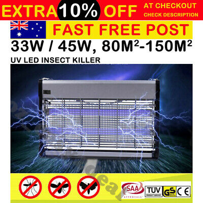 Insect Killer Bug Zapper Fly Trap Trapper Mosquito Pest Catcher Electric UVA LED